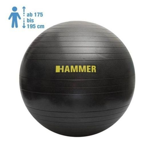HAMMER Gymnastic Ball 75 cm Antiburst - 66408 - Piłka fitness - 75