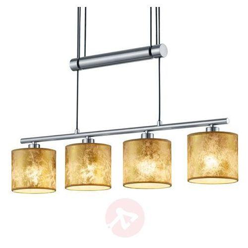 Trio garda lampa wisząca nikiel matowy, 4-punktowe - nowoczesny - obszar wewnętrzny - garda - czas dostawy: od 4-8 dni roboczych