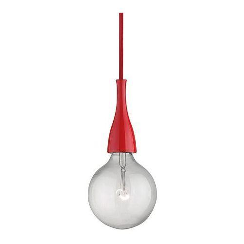 Minimal SP1 09414 lampa wisząca czerwony 1x70w E27 Ideal Luxl, 09414