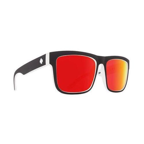 Okulary słoneczne discord discord whitewall - happy gray green w/ red spectra marki Spy