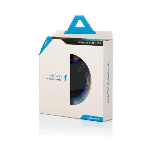 Global Technology ŁADOWARKA INDUKCYJNA (qi) Q2 LED czarno-niebieska (ładowarka do telefonu)
