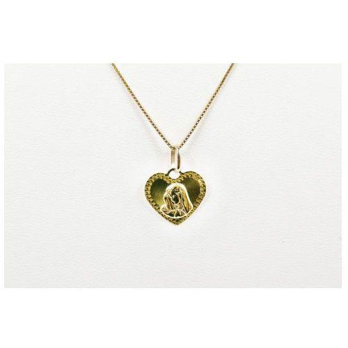 Biżuteria damska ze złota pr.585 14 karat zawieszka złota zz.a.075.01 marki Saxo