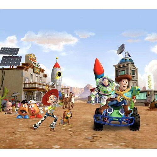 AG design zasłona bohaterowie Toy Story w mieście, 180 x 160 cm, 2 szt. (8595577943819)