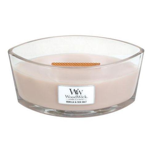 - świeca hearthwick flame vanilla & sea salt 60h marki Woodwick