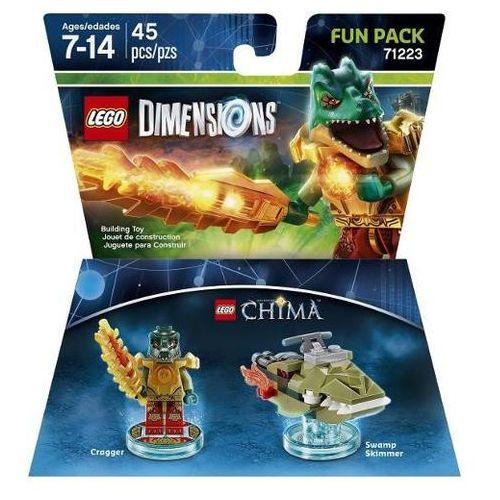 Lego dimensions - chima fun pack 71223 - cragger marki Avalanche studios