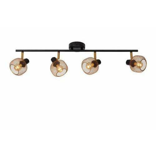 Lucide Maren 77978/04/02 plafon lampa sufitowa 4x40W E14 złoty/czarny (5411212771100)