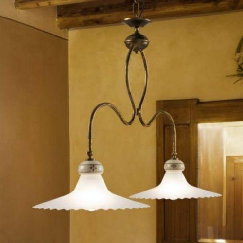 lampa wisząca MAMI 920 rdzawa ŻARÓWKI LED GRATIS!, LINEA LIGHT 2639