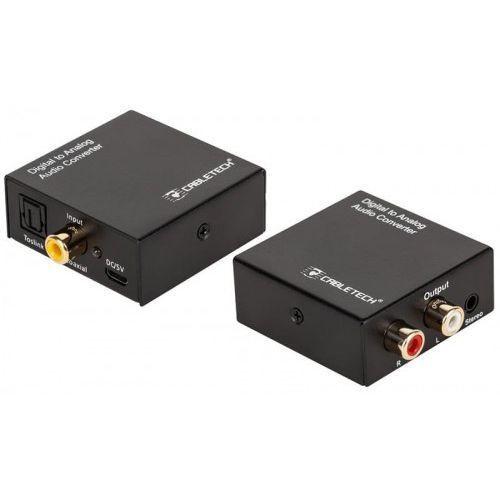 Cabletech Konwerter dźwięku cyfrowego na analogowy zla0857-2 (5901890029223)