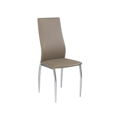 Signal Nowoczesne krzesło h-801 ciemny beż