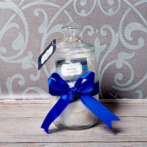 Słój życzeń: Ślubne cytaty - Słój z 31 personalizowanymi karteczkami - produkt z kategorii- Pozostałe na ślub i wesele