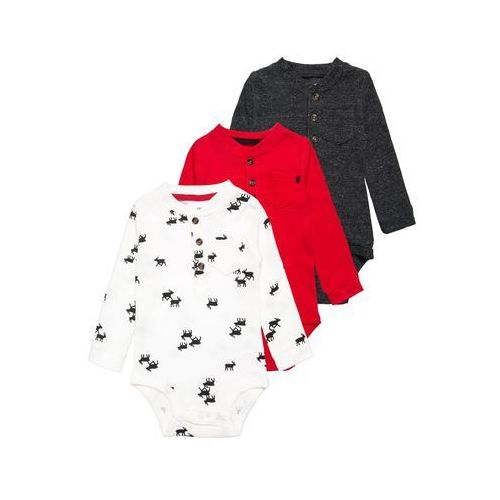 Carter's HOLIDAY 3 PACK Body multicolor/red/heather (0888767933829)