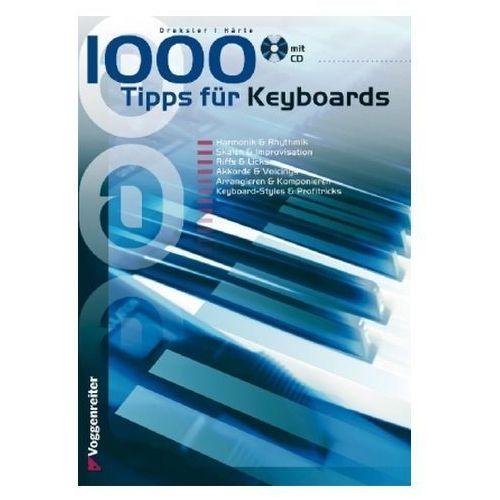 1000 Tipps für Keyboards, m. Audio-CD (9783802401589)