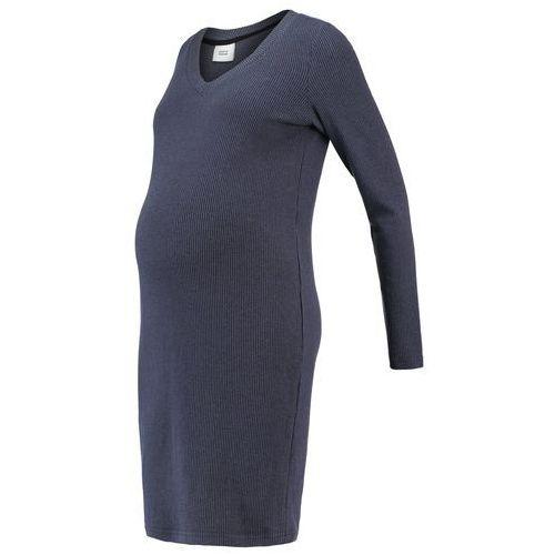 MAMALICIOUS MLMELOW Sukienka z dżerseju vintage indigo, towar z kategorii: Sukienki ciążowe