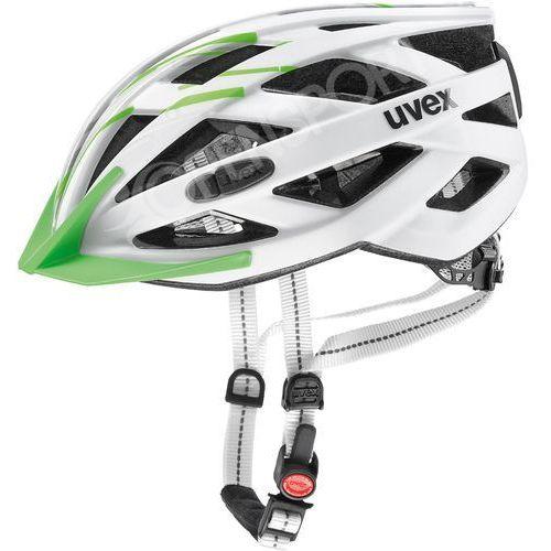 Uvex Kask rowerowy city i-vo l 56-60 cm biały / zielony