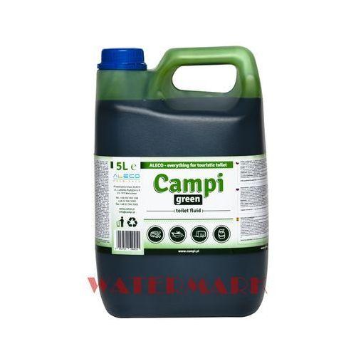 Aleco Campi green do wc turystycznych przenośnych 5l płyn do toalet kempingowych (5907724590051)