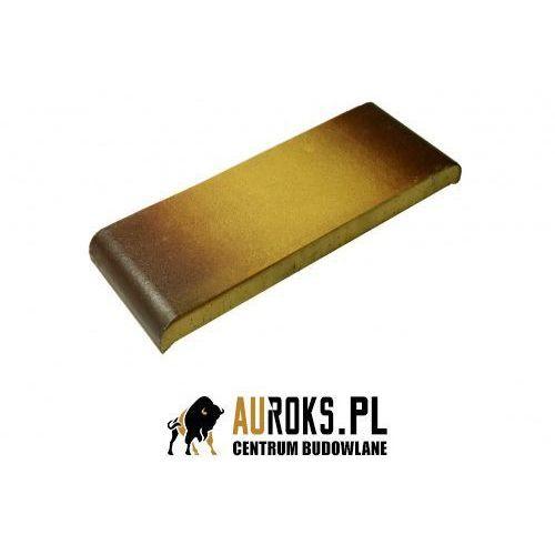 Kształtka płaska z kapinosem kp30k kolor żółty cieniowany 300x110x25 mm marki Gołowczyński