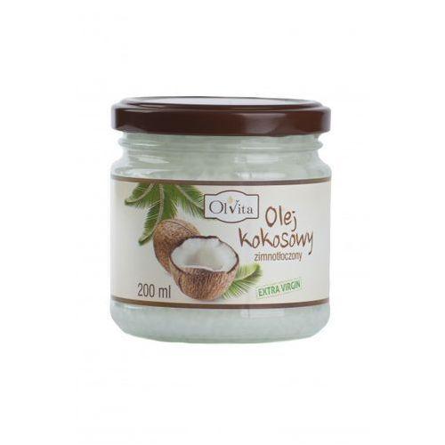 Olej kokosowy 200ml extra virgin - marki Ol'vita