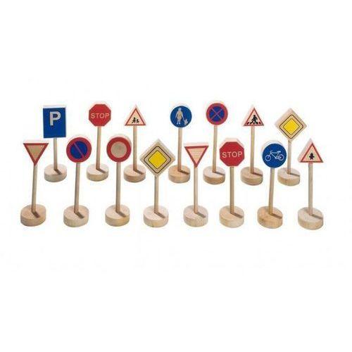 Goki  - zestaw drewnianych znaków drogowych