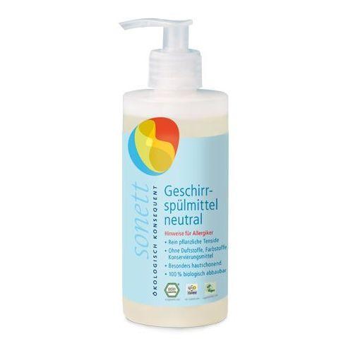 Ekologiczny płyn do mycia naczyń neutral / sensitiv 300 ml z dozownikem  marki Sonett