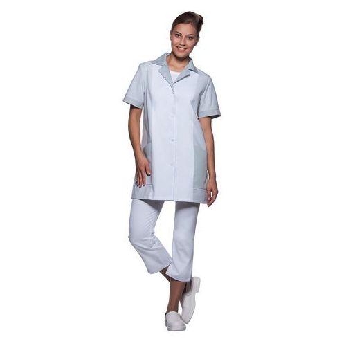 Tunika medyczna z krótkim rękawem, rozmiar 52, jasnoszara   , penelope marki Karlowsky