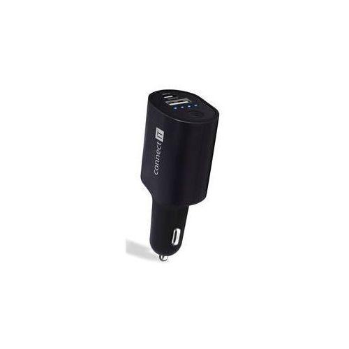 Connect it Zasilacz samochodowy incarz s power bankou 2200 mah (ci-989) czarna