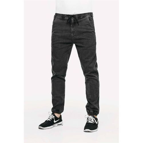 Reell Spodnie - reflex pant grey denim grey denim (grey denim) rozmiar: m