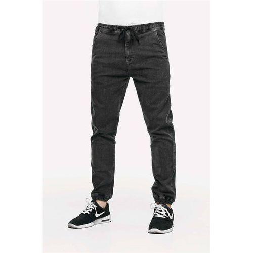 Spodnie - reflex pant grey denim grey denim (grey denim) rozmiar: m marki Reell