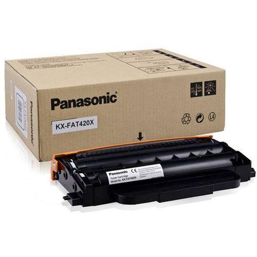 Panasonic Toner kx-fat420x czarny do faxów (oryginalny) [1.5k]