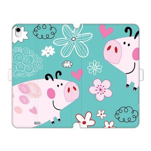 Apple iPad Pro 11 - etui na tablet Wallet Book Fantastic - różowe świnki, ETAP818WBFCFB037000