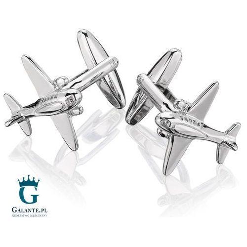 Spinki do mankietów X2 Samolot, N152/292