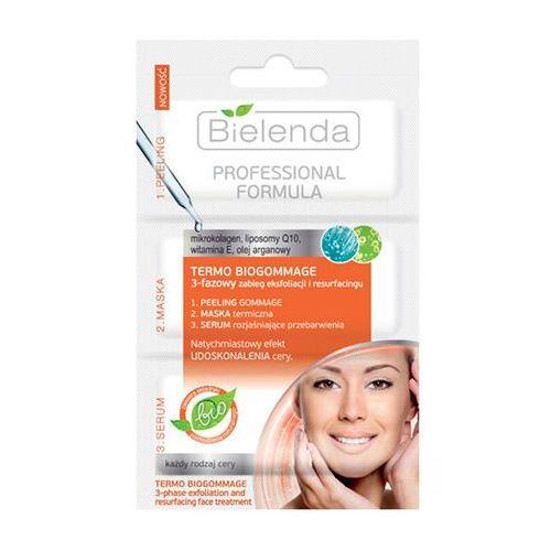 professional formula termo biogommage 3-fazowy zabieg 3 x 3g marki Bielenda