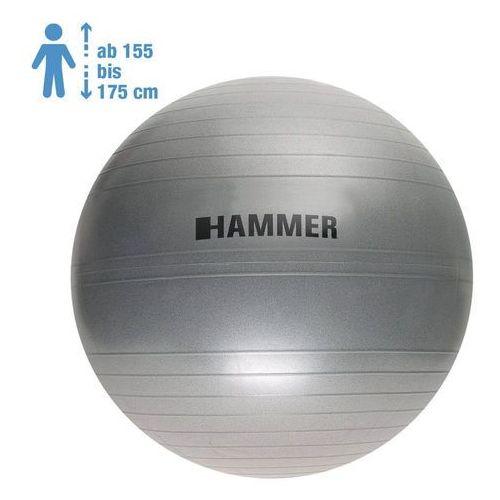 gymnastic ball 65 cm antiburst - piłka fitness marki Hammer