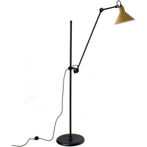 n°215 - lampa podłogowa - czarny/żółty marki Lampe gras