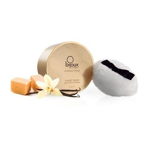 Smaczny puder do ciała - Bijoux Cosmetiques Body Powder wanilia z kategorii Gadżety erotyczne