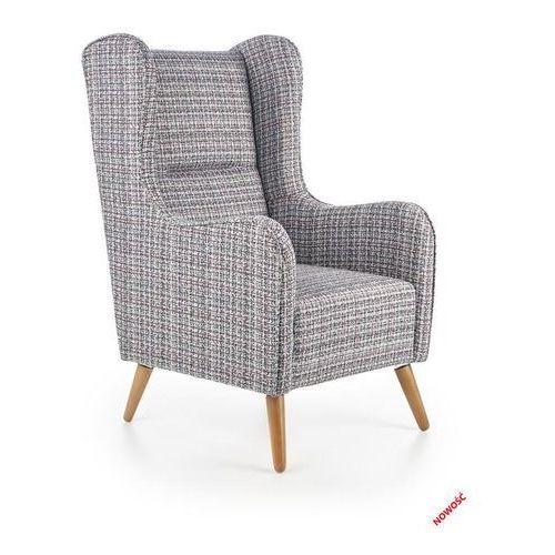 Fotel wypoczynkowy uszak chester wielobarwny marki Halmar