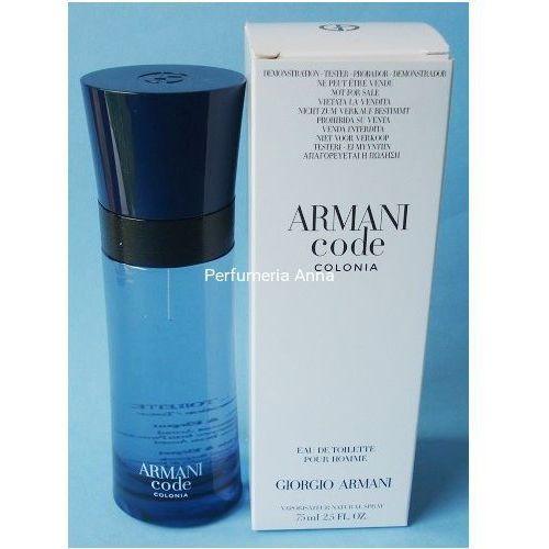 Armani Code Colonia M. edt 75ml TESTER