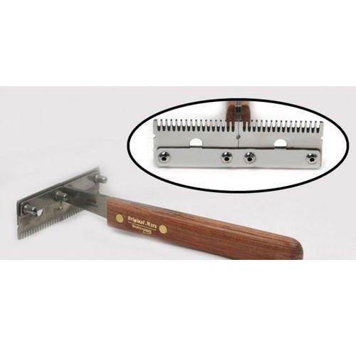 - trimm king - trymer poprzeczny do usuwania podszerstka, podwójny, średni marki Mars
