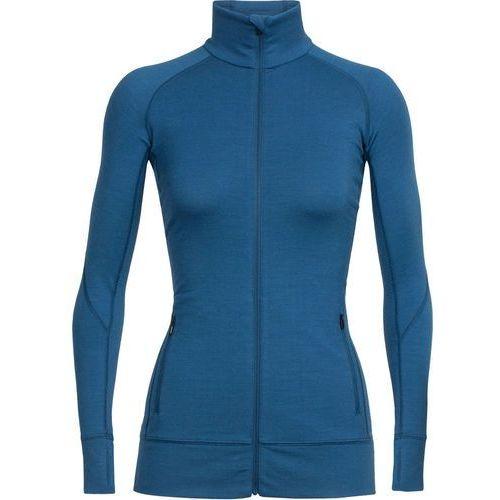 fluid zone kurtka kobiety niebieski l 2018 kurtki wełniane marki Icebreaker