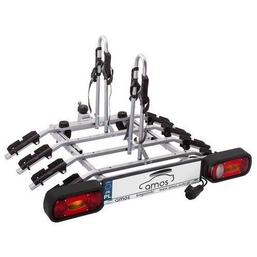 Platforma bagażnik na 4 rowery rowerowy na hak Tytan Amos 13PIN