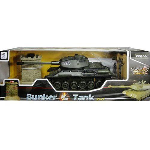 Zabawka SWEDE Czołg walczący z wieżą, sterowany pilotem G1397 + DARMOWY TRANSPORT! (5902496118304)