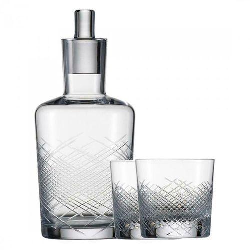 Zak! designs - Dot Zestaw dwóch szklanek z łyżeczkami pojemność: 0,35 l