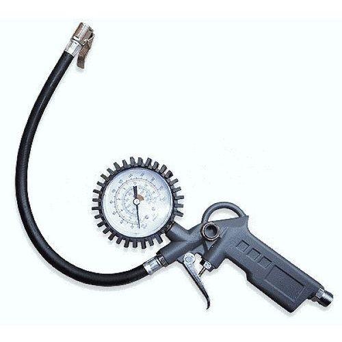 Pistolet do pompowania z manometrem - DUŻY - Manometr zegarowy 55mm (5904182449747)
