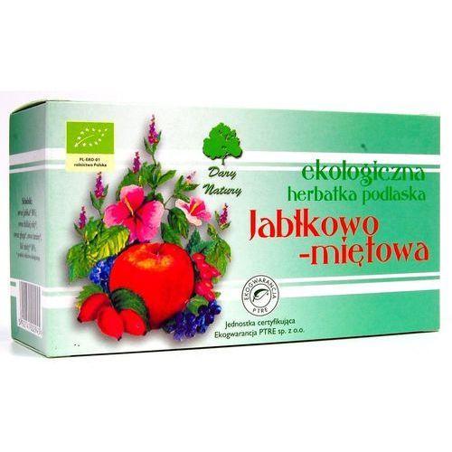JABŁKOWO - MIĘTOWA EKO - herbata ekspresowa - Dary Natury