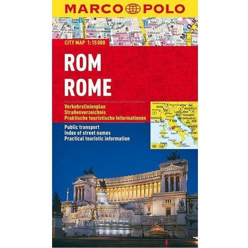 Rom / Rome. City Map 1:15 000, MARCO POLO