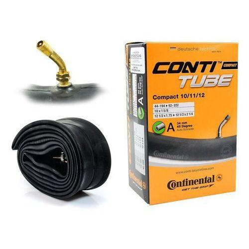 Co0182211 dętka compact 10/11/12'' x 1,75'' - 2,5'' wentyl auto 34 mm gięty marki Continental