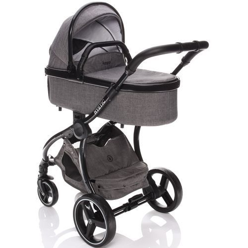 Zopa wózek dziecięcy mystic, briliant grey/black (8595114467037)