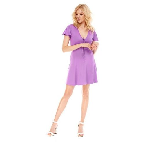 Sukienka Nika w kolorze fioletowym
