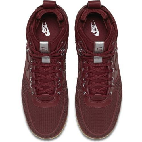 Buty Nike Lunar Force 1 Duckboot - 805899-600 - Czerwony, kolor czerwony