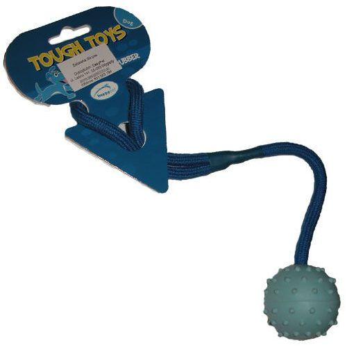 Tough toys Świetna zabawka na sznurku do aportowania i przeciągania