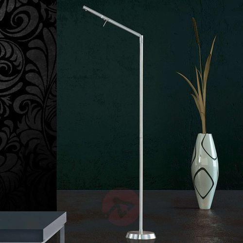 Trio filigran lampa stojąca led nikiel matowy, 1-punktowy - nowoczesny - obszar wewnętrzny - filigran - czas dostawy: od 4-8 dni roboczych (4017807295337)